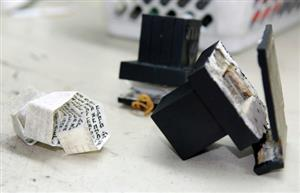 looking inside tefillin boxes