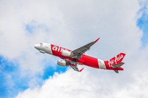 Air Asia Plane Take off