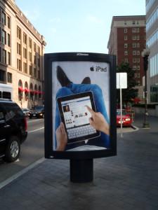 iPad Ad Featuring Facebook (Boston MA)