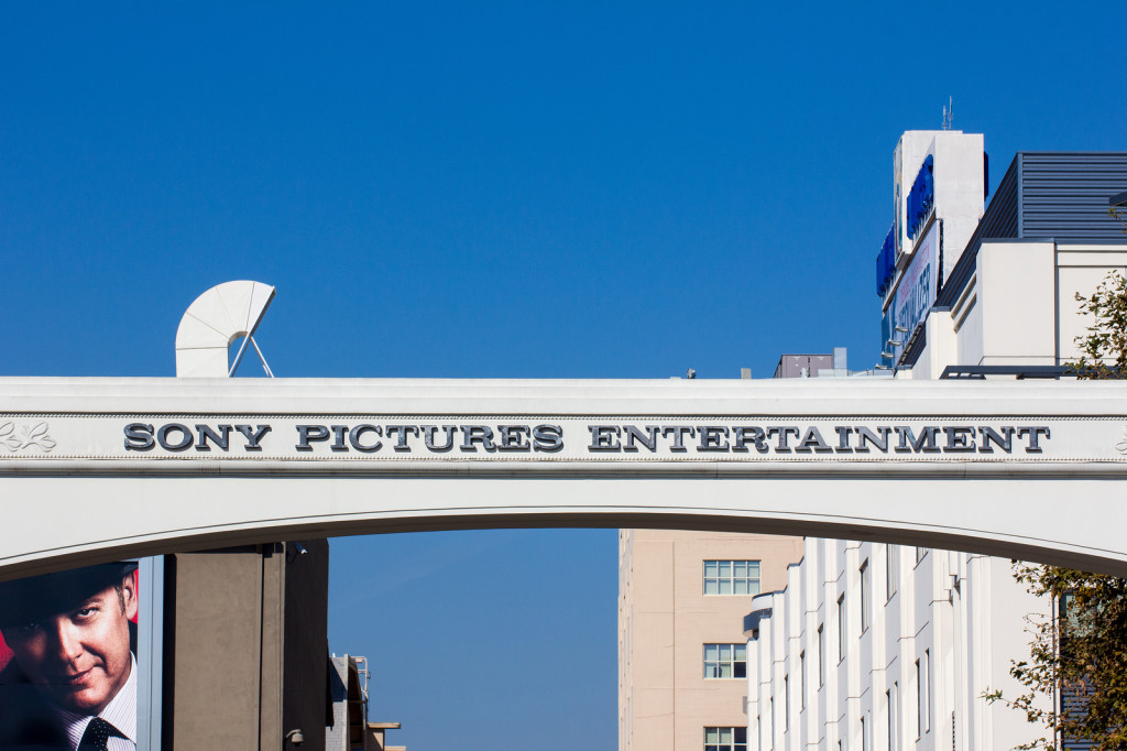 Sony Pictures Studio Entrance