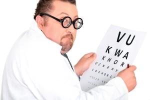 Comedic Optometrist