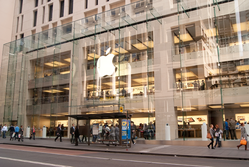 apple retail store in sydney
