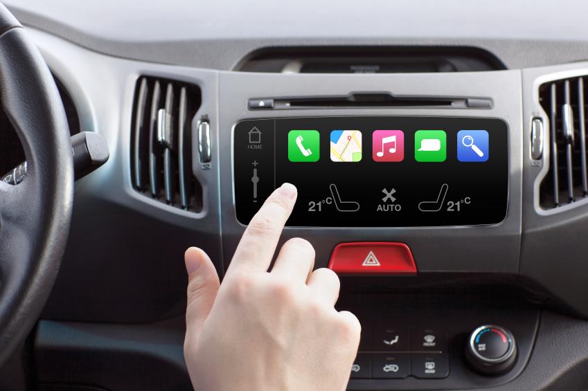 touch screen car dashboard